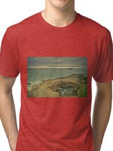 Devil's punch bowl Oregon Tri-blend T-Shirt