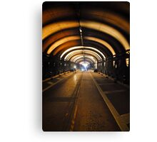 Voice Tunnel Canvas Print