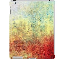 Lovely Abstract iPad Case Crazy Colors Vintage New Grunge Texture iPad Case/Skin