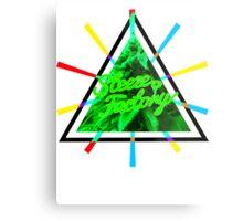 Marijuana | Tri Force | SteezeFactory.com Metal Print