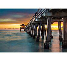 Endless Pier Photographic Print