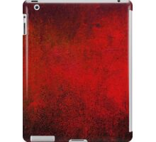 Abstract Dark Red iPad Case Crazy Colors Vintage Cool Lovely New Grunge Texture iPad Case/Skin