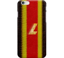 Monogram L personalized gift for him iPhone Case/Skin