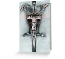 The Confession. Greeting Card