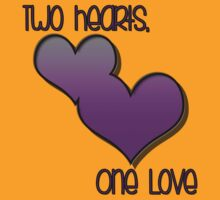 Two Hearts, One Love by JKGFX