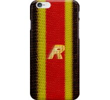 Monogram R personalized gift for him iPhone Case/Skin