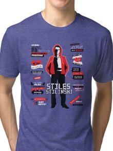Stiles Stilinski Quotes Teen Wolf Tri-blend T-Shirt
