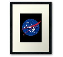 STARFLEET / NASA Framed Print