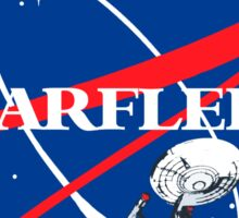 STARFLEET / NASA Sticker