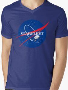 STARFLEET / NASA Mens V-Neck T-Shirt