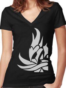 Skyrim - Daedric Armor Women's Fitted V-Neck T-Shirt