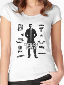 Derek Hale Quotes Teen Wolf Women's Fitted Scoop T-Shirt