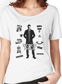 Derek Hale Quotes Teen Wolf Women's Relaxed Fit T-Shirt