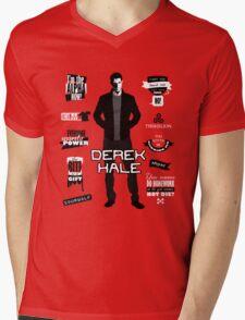 Derek Hale Quotes Teen Wolf Mens V-Neck T-Shirt