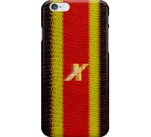 Monogram X personalized gift for him iPhone Case/Skin