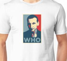 Doctor Who Chris Eccleston Barack Obama Hope style poster Unisex T-Shirt