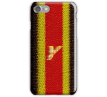 Monogram Y personalized gift for him iPhone Case/Skin