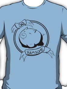 So HAMsome - Black T-Shirt