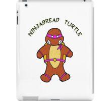NINJABREAD TURTLE PURPLE iPad Case/Skin