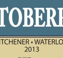 Bustoberfest 2013 Sticker