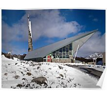 Roman Catholic Church, Perisher Valley, Snowy Mountains, Australia Poster