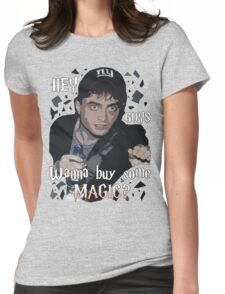 Wanna Buy Some Magic? Womens Fitted T-Shirt