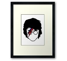 The boy who rocked Framed Print