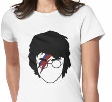 The boy who rocked Womens Fitted T-Shirt