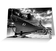 USS Missouri, Pearl Harbor Greeting Card