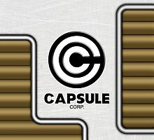 Capsule Corp. by huckblade