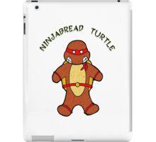 NINJABREAD TURTLE RED iPad Case/Skin