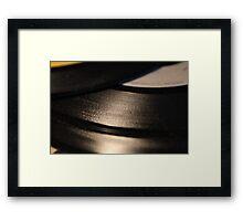 Vinyl Single 1 Framed Print