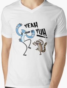 YEAH YUH! Mens V-Neck T-Shirt