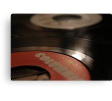 Vinyl Single 2 Canvas Print