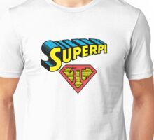 SuperPi Hero, Math Nerd Humor Unisex T-Shirt