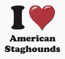 I Heart Staghounds by HighDesign