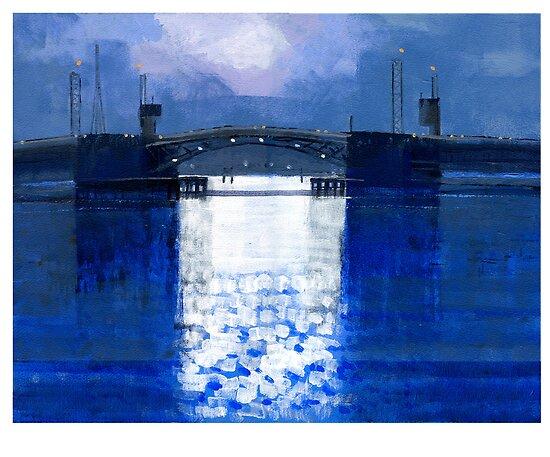 dawn bridge by David  Kennett