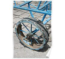 Cart Wheel Poster
