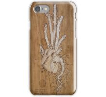 Asparagus Heart iPhone Case/Skin