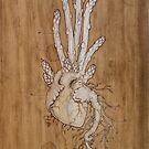 Asparagus Heart by Fay Helfer