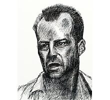 Bruce Willis In Die Hard  Photographic Print