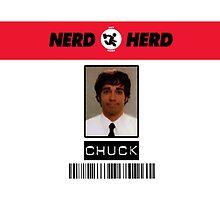 Chuck Bartowski - Nerd Herd by trevorbrayall