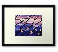 Cherry Blossoms Decorative Painting Framed Print