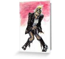 Gwen Stefani Greeting Card