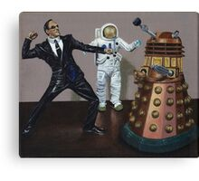A Matrix of Daleks Canvas Print