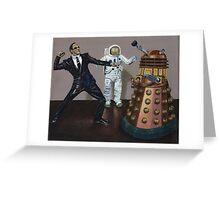 A Matrix of Daleks Greeting Card
