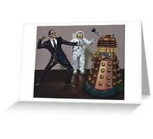 A Matrix of Daleks Greeting Card