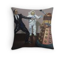 A Matrix of Daleks Throw Pillow