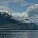 Aggressive Looking Clouds, Alaska by Gerda Grice