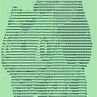 Bulbascii by James Rogan